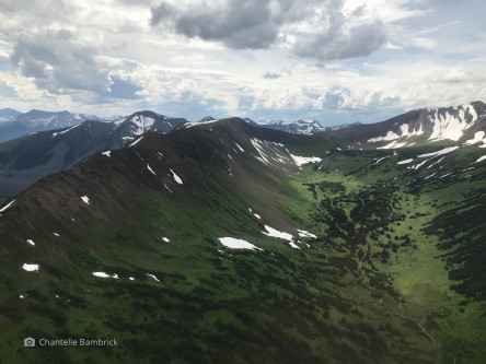 Mountain and alpine valleys in the northern Rockies